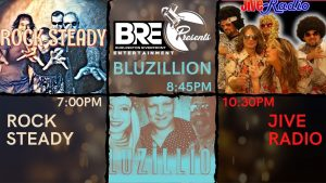 BRE Presents Rock Steady/Bluzillion/Jive Radio @ Burlington Memorial Auditorium
