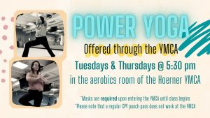 YMCA Power Yoga @ Hoerner YMCA