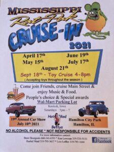 Rat Pak Cruise-IN 2021 @ Walmart Parking Lot