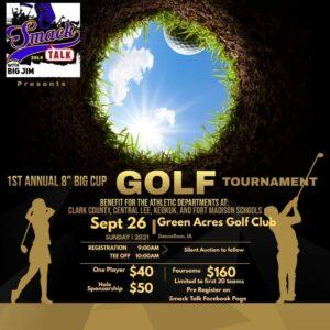 1st Annual Big Cup Golf Tournament @ Green Acres Golf Club